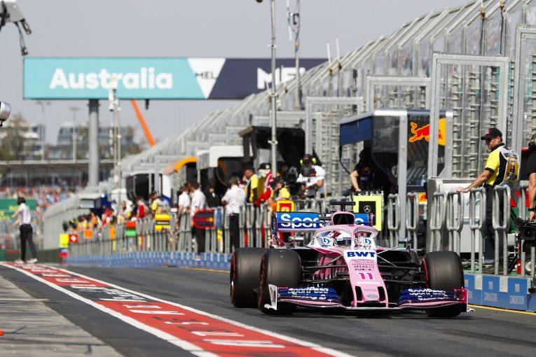 F1   ペレスが予選10番手「このマシンには大きなポテンシャルがある」:レーシングポイント F1オーストラリアGP土曜