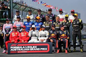 F1 | ペナルティはなし、予選順位のまま決勝へ/F1開幕戦オーストラリアGPグリッド