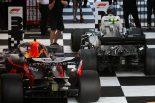 2019年F1開幕戦オーストラリアGP決勝日 バルテリ・ボッタス(メルセデス)、マックス・フェルスタッペン(レッドブル・ホンダ)