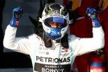 2019年F1開幕戦オーストラリアGP決勝日 逆転優勝を飾ったバルテリ・ボッタス(メルセデス)