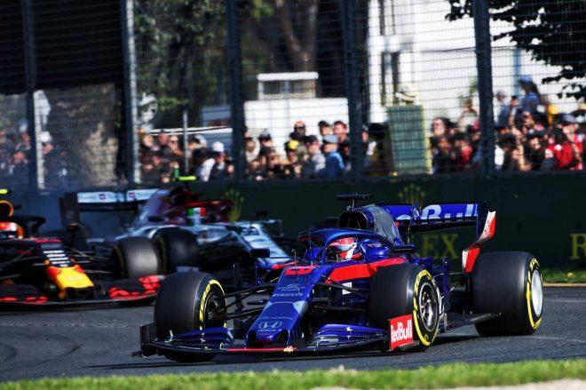 2019年F1開幕戦オーストラリアGP決勝日 ダニール・クビアト(トロロッソ・ホンダ)