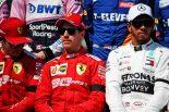 F1 | セバスチャン・ベッテル、ルイス・ハミルトン