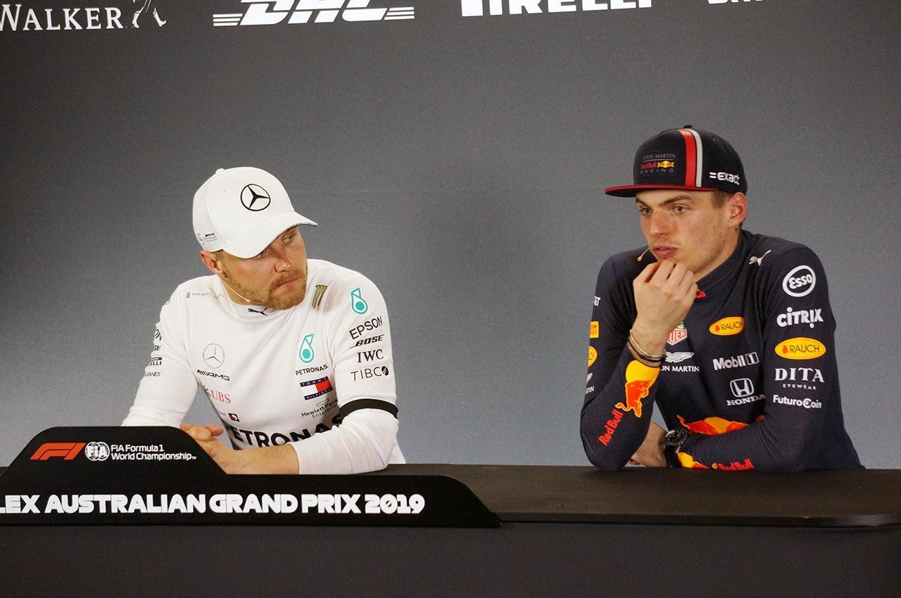 2019年F1第1戦オーストラリアGP レッドブル・ホンダのマックス・フェルスタッペン