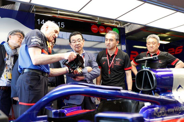 F1 | ホンダ八郷隆弘社長「アルファタウリ・ホンダF1の初優勝は、努力が実を結んだ結果。言葉にできないほど嬉しい」