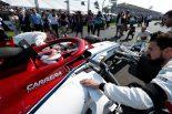 2019年F1開幕戦オーストラリアGP決勝日 キミ・ライコネン(アルファロメオ)