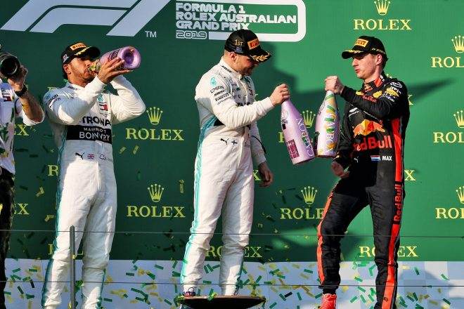 2019年F1第1戦オーストラリアGP マックス・フェルスタッペン(レッドブル・ホンダ)が3位表彰台を獲得