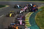 2019年F1開幕戦オーストラリアGP決勝レーススタート