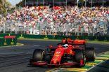 2019年F1開幕戦オーストラリアGP決勝日 セバスチャン・ベッテル(フェラーリ)