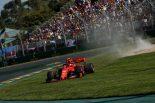 2019年F1開幕戦オーストラリアGP決勝日 シャルル・ルクレール(フェラーリ)