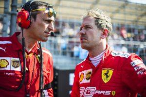 F1 | ベッテル4位「テストの時と状況が一変。どうしても速さを発揮できない」:フェラーリ F1オーストラリアGP日曜