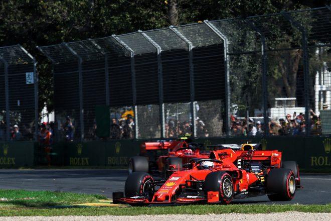 2019年F1第1戦オーストラリアGP セバスチャン・ベッテル(フェラーリ)
