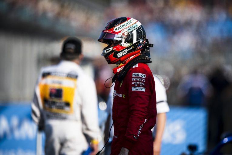 F1   ルクレール「ベッテルを抜かないよう、チームから指示された」:フェラーリ F1オーストラリアGP日曜