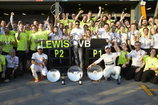 2019年F1オーストラリアGP ボッタスとハミルトンによりメルセデスが1-2を達成