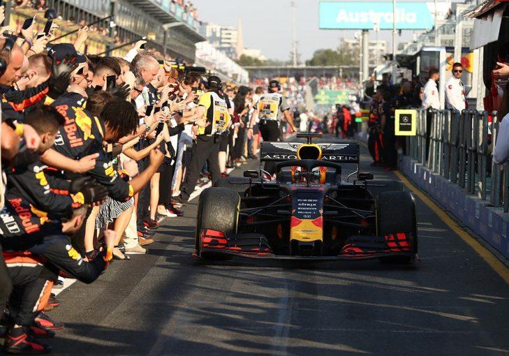 F1 | レッドブル・ホンダF1密着:メルセデスにプレッシャーをかけるまでに進歩したホンダPU。速さと信頼性にたしかな手応え