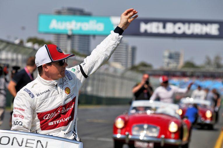 F1 | ライコネン「2019年仕様のマシンでもオーバーテイクは難しかった。速さはあったが8位どまり」:アルファロメオ F1オーストラリアGP日曜