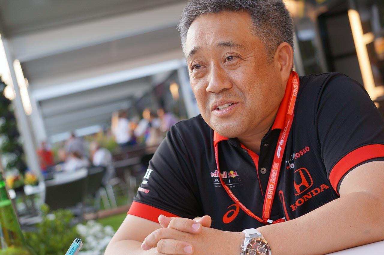 F1オーストラリアGP ホンダ山本雅史MS部長