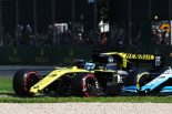 2019年F1第1戦オーストラリアGP ウイングが脱落したダニエル・リカルドのルノーR.S.19
