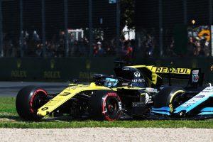 F1 | 2019年F1第1戦オーストラリアGP ウイングが脱落したダニエル・リカルドのルノーR.S.19