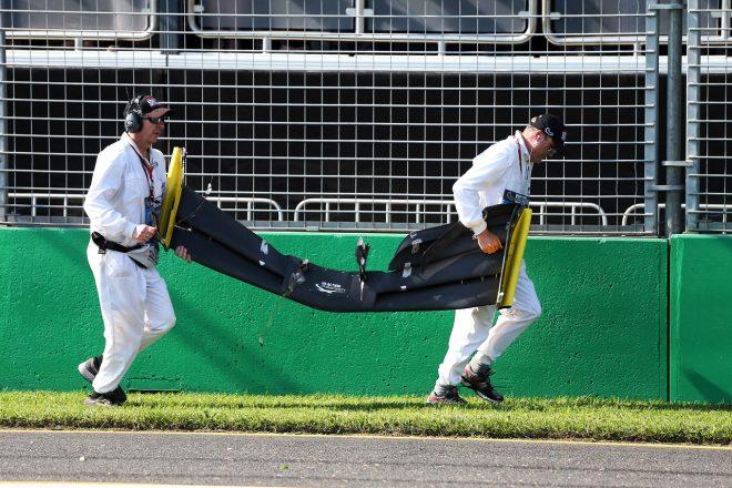 2019年F1第1戦オーストラリアGP ダニエル・リカルドのルノーから脱落したウイング