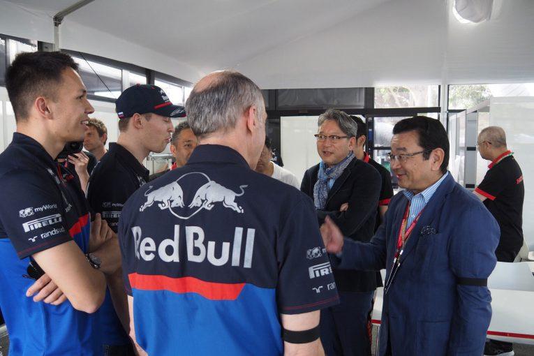 Blog | 【ブログ】緊張もつかの間、トロロッソの若手ふたりがホンダ八郷社長に言いたい放題/F1オーストラリアGP現地情報