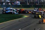 F1 | クビサ「ガスリーとの接触でウイングが破損。その後ミラーも失い、困難なレースに」:ウイリアムズ F1オーストラリアGP日曜