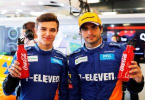 F1 | マクラーレンとコカ・コーラ社が契約を延長