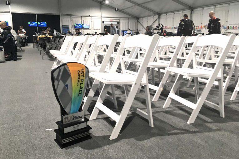 Blog | 【ブログ】長丁場のWECセブリングを終え、視線は早くもル・マンへ。でも、優勝トロフィーはお忘れなく!