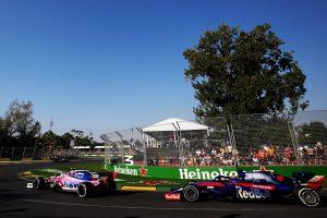 F1 | ストロール9位「ライコネンとクビアトにはさまれて、本当にキツいレースだった」:レーシングポイント F1オーストラリアGP日曜