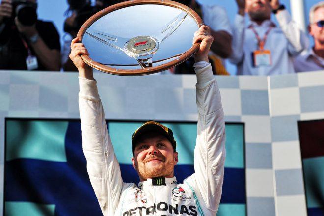 """F1   フィニッシュ後の無線は「自分の気持ちを伝えたかっただけ」。ボッタスが""""Fワード""""の真相を明かす"""