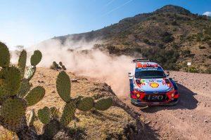 ラリー/WRC | ラリー・メキシコで一時総合首位につけたアンドレアス・ミケルセン(ヒュンダイi20クーペWRC)