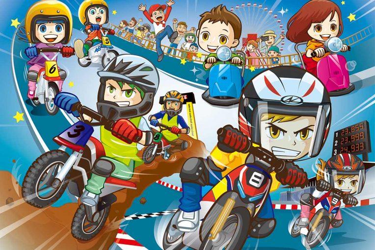 インフォメーション | 日本初のモトクロスアトラクションも。鈴鹿サーキットにバイクがテーマの新アトラクション登場