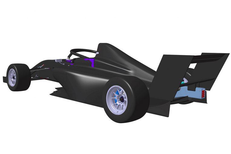 海外レース他 | 童夢、リージョナルF3向け新型シャシー『DOME F111/3』の開発に着手