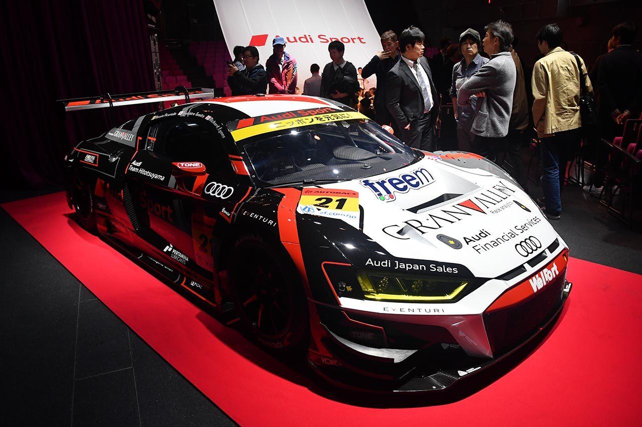 アウディスポーツ、2019年も日本で3シリーズ10台をサポート。ドライビングイベントも開催