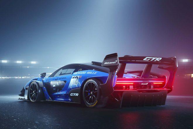 ジュネーブモーターショー2019で公開されたマクラーレン・セナGTR