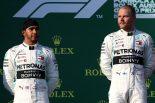 | 2019年F1開幕戦オーストラリアGP バルテリ・ボッタス、ルイス・ハミルトン(メルセデス)