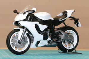 MotoGP | 森園れんさんが作ったタミヤ 1/12 ヤマハYZF-R1M