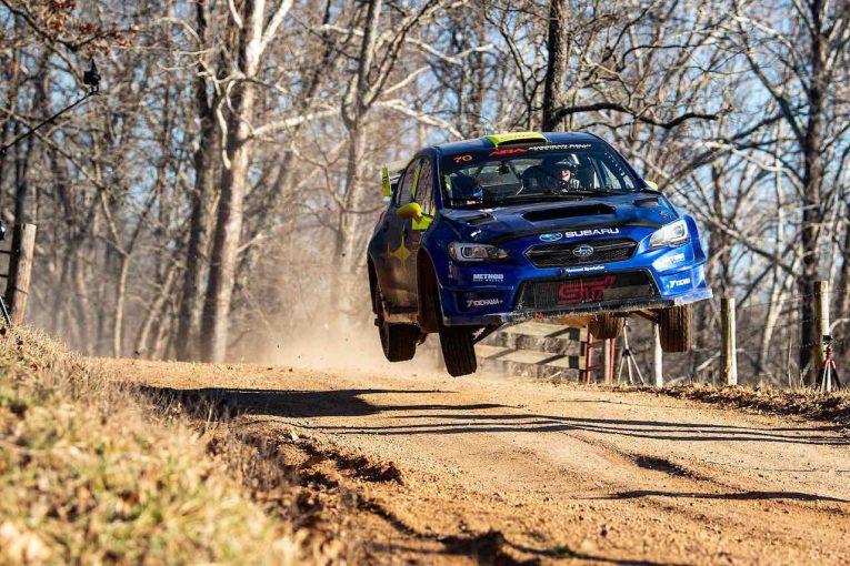 ラリー/WRC | オリバー・ソルベルグ、北米デビュー戦で2位獲得。「父と同じカラーのマシンをドライブできて感動的だった」