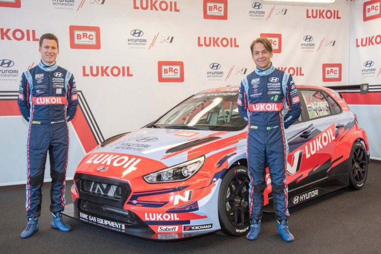 海外レース他 | WTCR:BRCヒュンダイを公式披露。4台体制でルクオイルが新パートナーに就任