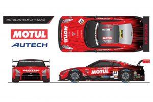 スーパーGT | スーパーGT:ニッサンGT-R GT500マシンの2019年版カラーリングイラストが公開