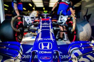 F1 | F1オーストラリアGPの時点で、チームが走らせるSTR14のノーズにはBuzzのロゴが掲げられている