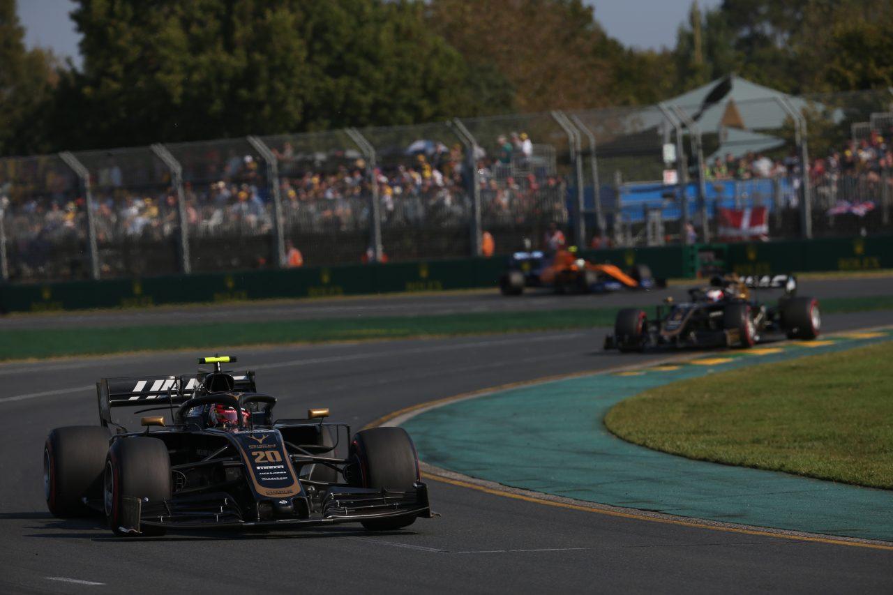 2019年F1オーストラリアGPでのマグヌッセン