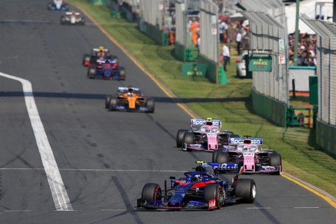 2019年F1開幕戦オーストラリアGP決勝日 アレクサンダー・アルボン(トロロッソ・ホンダ)