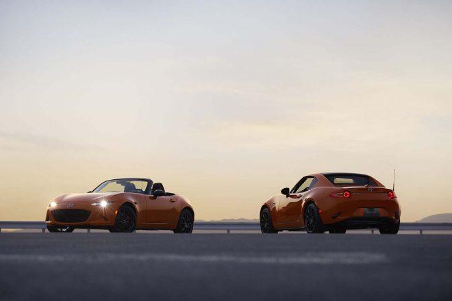 30周年記念モデルは日本国内ではロードスター、ロードスターRFの2タイプ合計150台が発売される