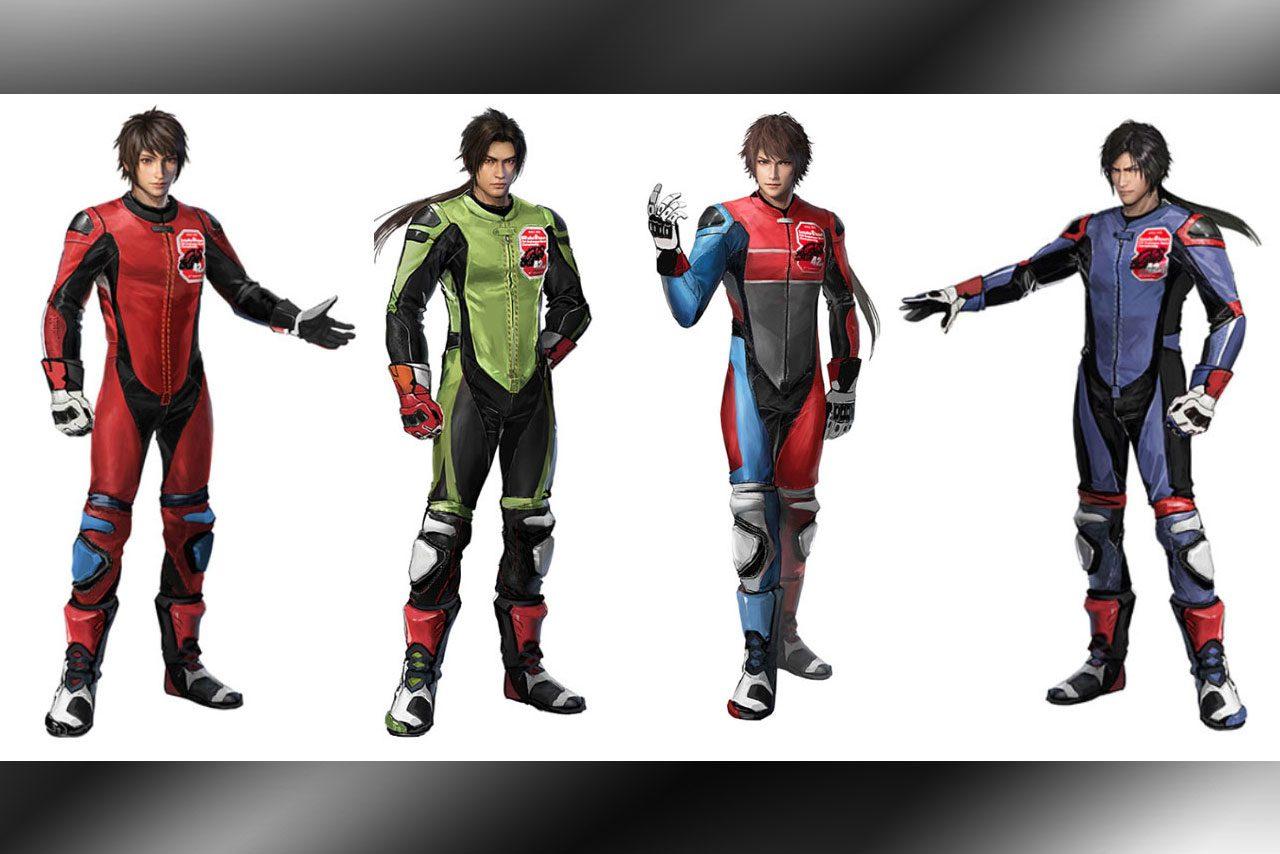 国内バイクメーカーを応援する『真・三國無双8』のキャラクターたち