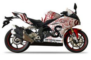MotoGP | ホンダCBR250RR/デザイン:虎