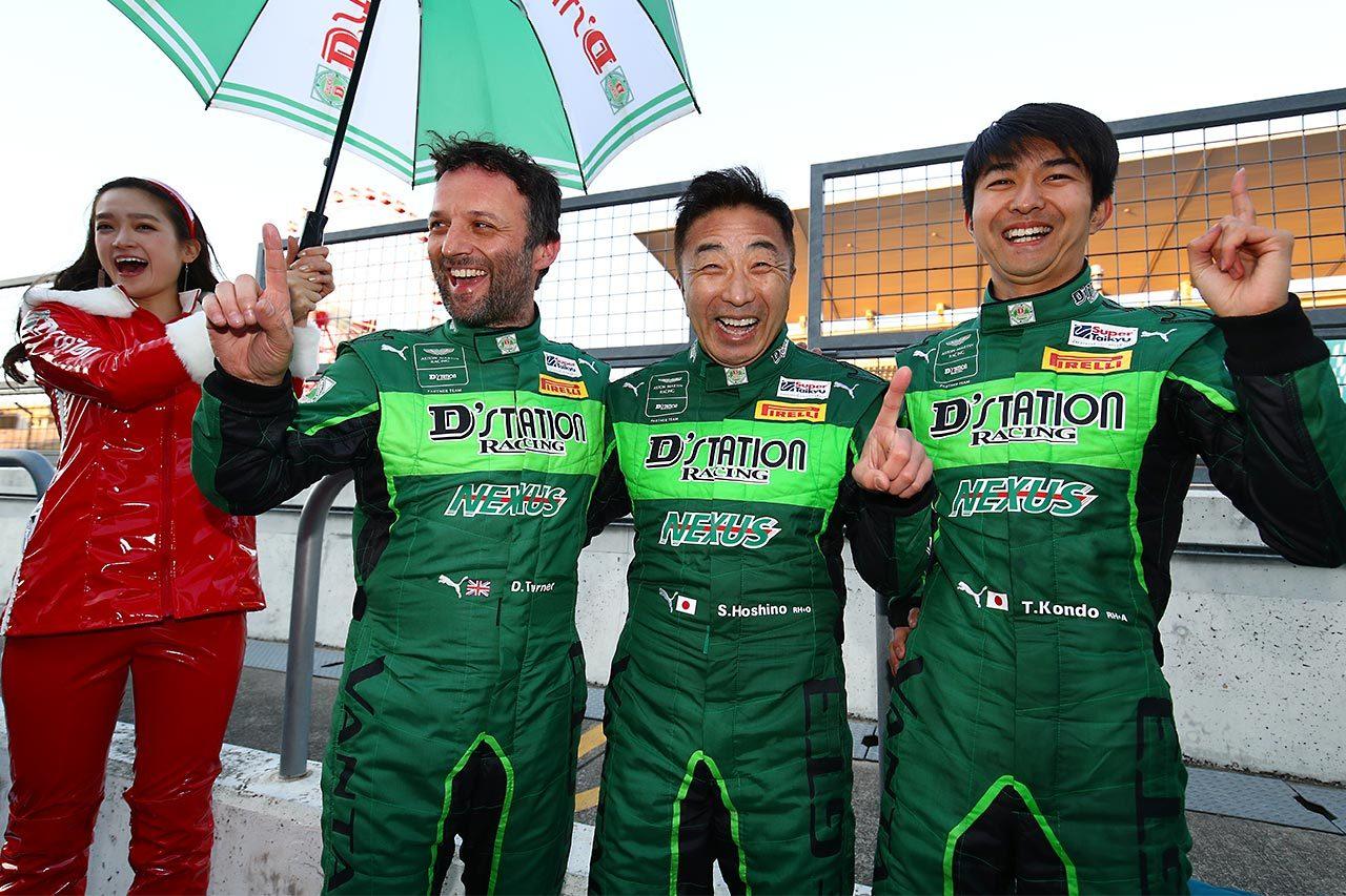 """スーパー耐久:D'station Vantage GT3の""""世界初勝利""""にアストンマーティン本国からも祝福"""