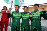 スーパー耐久第1戦鈴鹿を制したD'station Vantage GT3の星野敏/ダレン・ターナー/近藤翼