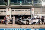 VLN1に参戦したTOYOTA GAZOO RacingのレクサスLC。隣にはGRスープラが見える。