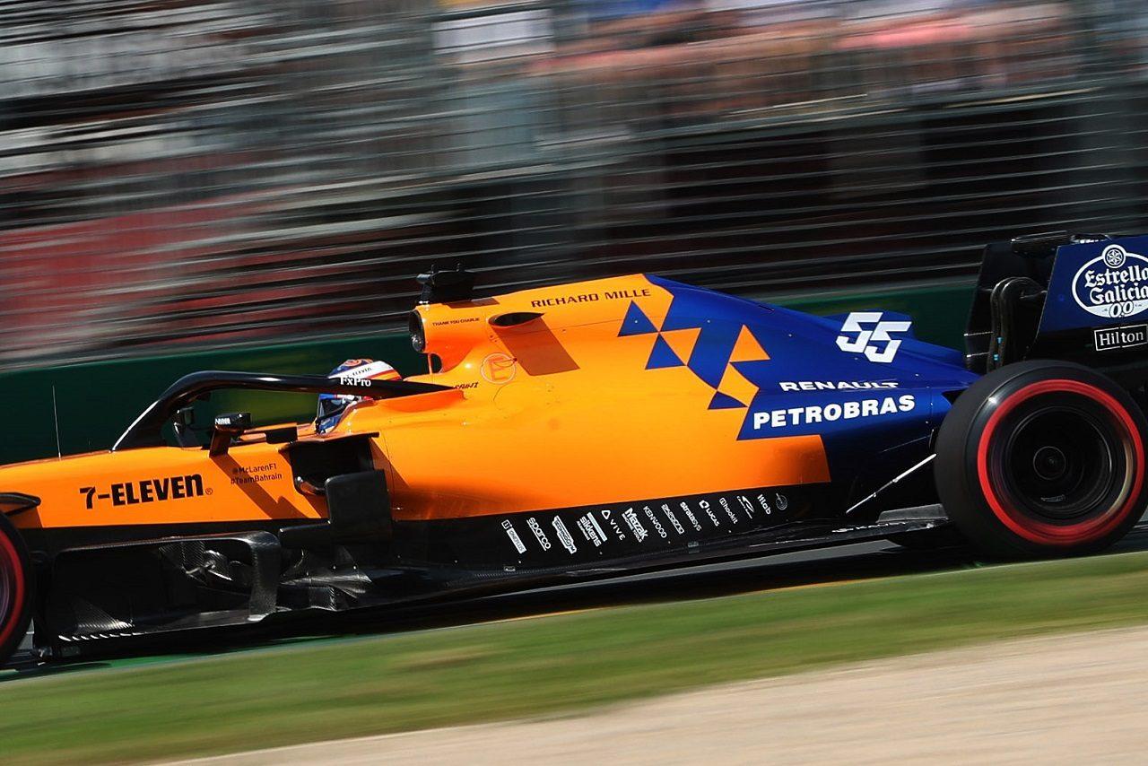 2019年F1第1戦オーストラリアGP カルロス・サインツJr.(マクラーレン)