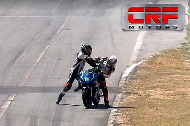 MotoGP | 【動画】コスタリカのバイクレースで乱闘騒ぎ。コース上で喧嘩したふたりに2年間の出場停止処分